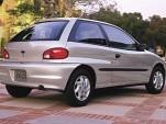 2000 Chevrolet Metro Coupe