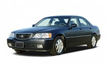 2003 Acura RL 4-door Sedan Angular Front Exterior View
