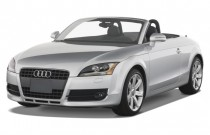 2009 Audi TT 2-door Rdstr AT 2.0T FrontTrak Prem Angular Front Exterior View