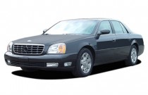 2003 Cadillac DeVille 4-door Sedan DTS Angular Front Exterior View