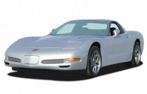 2003 Chevrolet Corvette 2-door Z06 Hardtop Angular Front Exterior View