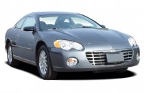 2003 Chrysler Sebring 2-door Coupe LX Angular Front Exterior View