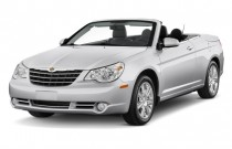 2010 Chrysler Sebring 2-door Convertible Limited Angular Front Exterior View