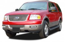 2004 Ford Expedition 4.6L Eddie Bauer Angular Front Exterior View