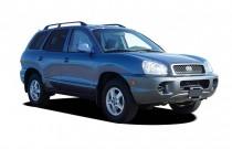 2004 Hyundai Santa Fe 4-door 2WD Auto 2.4L I4 Angular Front Exterior View