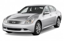 2009 Infiniti G37 Sedan 4-door Sport RWD Angular Front Exterior View