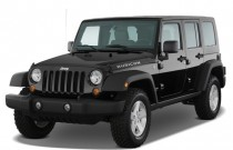 2009 Jeep Wrangler Unlimited 4WD 4-door Rubicon Angular Front Exterior View