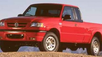 2001 Mazda B-Series 2WD Truck DS