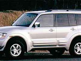 2001 Mitsubishi Montero XLS