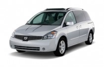 2008 Nissan Quest 4-door SE Angular Front Exterior View