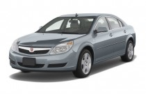 2009 Saturn Aura 4-door Sedan I4 XE Angular Front Exterior View