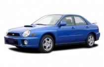 2003 Subaru Impreza 4-door Sedan WRX Manual Angular Front Exterior View