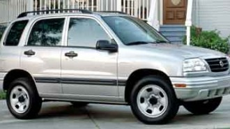2001 Suzuki Vitara JLS