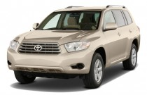 2009 Toyota Highlander FWD 4-door V6 Base (Natl) Angular Front Exterior View