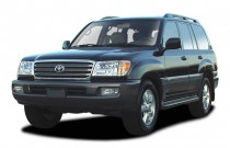 2003 Toyota Land Cruiser 4-door 4WD (Natl) Angular Front Exterior View