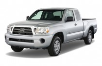 2009 Toyota Tacoma 2WD Access I4 AT (Natl) Angular Front Exterior View