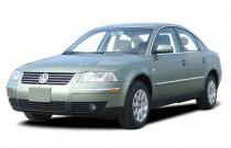 2003 Volkswagen Passat 4-door Sedan GLS Manual Angular Front Exterior View