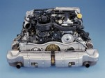 2001 Porsche 911 Turbo engine