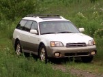 My 2001 Subaru Outback with 200K+ miles starts to sporadically pull very hard to the right after driving about 90 miles.