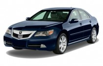2010 Acura RL 4-door Sedan Tech/CMBS Angular Front Exterior View