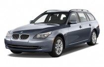 2009 BMW 5-Series 4-door Sports Wagon 535i xDrive AWD Angular Front Exterior View