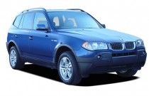 2006 BMW X3-Series X3 4-door AWD 3.0i Angular Front Exterior View