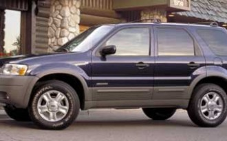 Ford Recalls 2001-2002 Escape Crossover