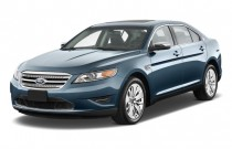 2010 Ford Taurus 4-door Sedan Limited FWD Angular Front Exterior View