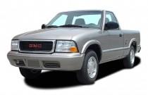 "2003 GMC Sonoma Reg Cab 108"" WB SLS Angular Front Exterior View"