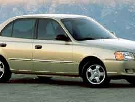 2002 Hyundai Accent GL