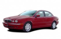 2004 Jaguar X-TYPE 4-door Sedan 2.5L Angular Front Exterior View