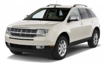2009 Lincoln MKX AWD 4-door Angular Front Exterior View