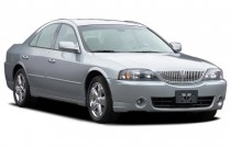 2006 Lincoln LS 4-door Sedan V8 Sport Angular Front Exterior View