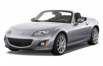 2010 Mazda MX-5 Miata 2-door Convertible PRHT Man Grand Touring Angular Front Exterior View