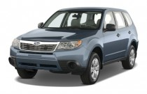 2009 Subaru Forester 4-door Man X Angular Front Exterior View