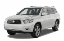 2010 Toyota Highlander FWD 4-door V6 Sport (Natl) Angular Front Exterior View