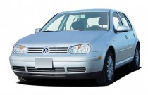 2005 Volkswagen Golf 4-door HB GLS TDI Manual Angular Front Exterior View