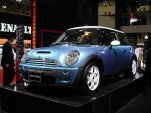 2002 Mini Cooper S, Los Angeles Auto Show