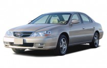 2003 Acura TL 4-door Sedan 3.2L Angular Front Exterior View