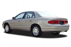 2003 Buick Regal 4-door Sedan LS Angular Rear Exterior View