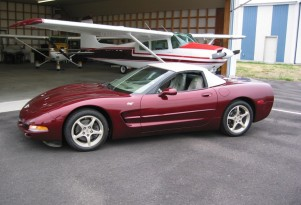 2003 50th Anniversary Chevrolet Corvette, eBay auction