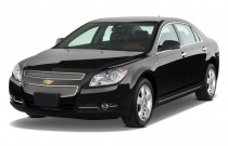 2010 Chevrolet Malibu 4-door Sedan LTZ Angular Front Exterior View