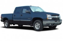 "2003 Chevrolet Silverado 1500HD Crew Cab 156.0"" WB 4WD LT Angular Front Exterior View"