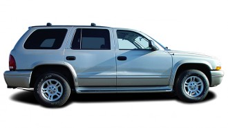 2003 Dodge Durango 4-door SLT Side Exterior View