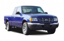 2003 Ford Ranger 2-door Supercab 4.0L XLT 4WD Angular Front Exterior View