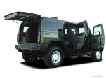 2003 HUMMER H2 4-door Wagon Open Doors