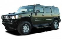 2003 HUMMER H2 4-door Wagon Angular Front Exterior View