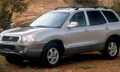 2003 Hyundai Santa Fe Photos