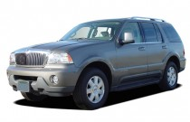 2004 Lincoln Aviator 4-door 2WD Luxury Angular Front Exterior View