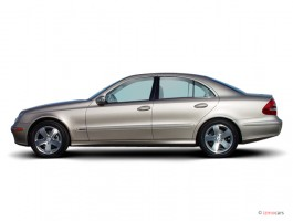 2003 Mercedes-Benz E Class 4-door Sedan 3.2L Side Exterior View